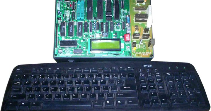 8085 Microprocessor trainer with adc,